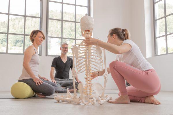 Katharina Brade Yoga Workshop Anatomie Körperhaltung Bewegungsapparat Murgtal Baden-Baden Rastatt