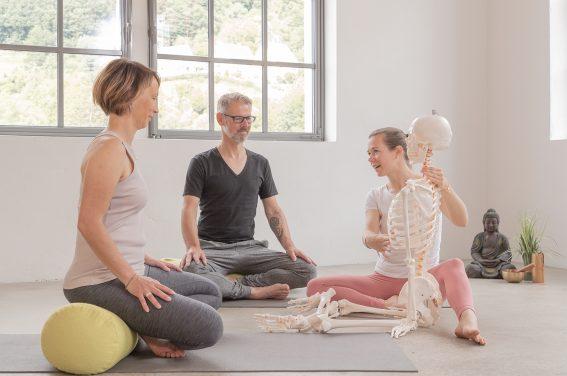 Katharina Brade Yoga Workshop Anatomie Bewegungsapparat Murgtal Baden-Baden Rastatt